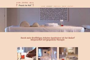 Praxis im Hof, Lenzburg. Dorn-Breuss-Massage & Liebscher & Bracht Schmerztherapie