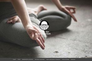 Raum der Achtsamkeit, Yogastudio in Rupperswil bei Aarau