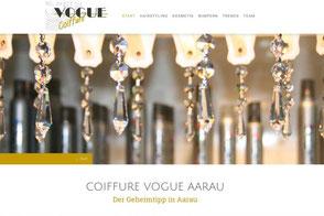 Coiffure Vogue, Aarau - Fachgeschäft für Damen- und Herren Haarstyling und Kosmetik