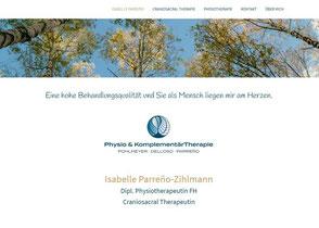 Isabelle Parreno, Dipl. Physiotherapeutin FH, Craniosacral Therapeutin, Aarau