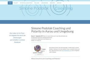 Simone Podolak Coaching und Polarity Therapeutin Aarau