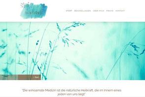 wachsam Energiearbeit Petra Schlappritzi, Webseite erstellt von Webdesign Beer, Aarau Küttigen
