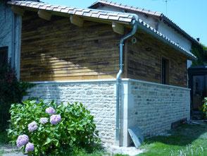 Ossature bois sur maçonnerie par les menuiseries Lethu 79, 86 et 16
