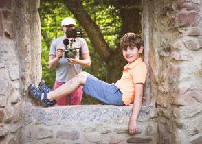 Fotografie Corinna Mamok, Making of Imagefilm Fotograf, Imagefilm Familienfotograf