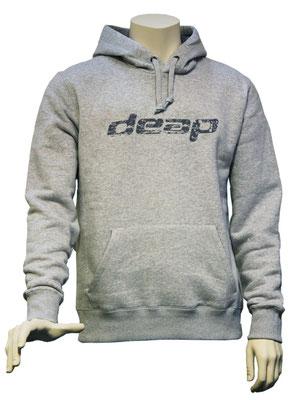 deap hoodie light grey