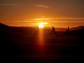Marokko Wüste Erg Chebbi Sahara