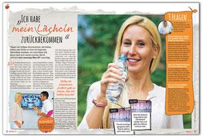 Artikel zum Zahnfleisch Lifiting in Frau von heute