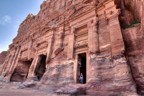 Jordanien, Petra,  Belichtungsreise