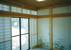 大橋工務店では、木を活かした和室建築を得意としています。