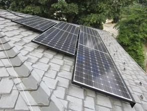大橋工務店 施工例 太陽光パネル設置工事