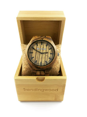 relojes de madera