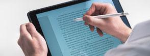 medialandgmbh_tablet_text_konzept