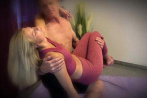 Bewegung in der Massage