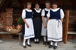 Die Museumsfrauen sind parat.
