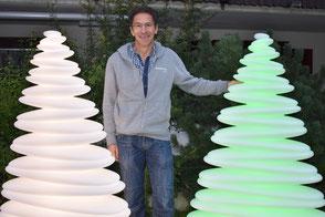 Unser Lichtkünstler Werner Berchtold