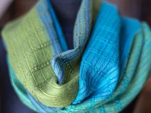 Schal mit Merinowolle