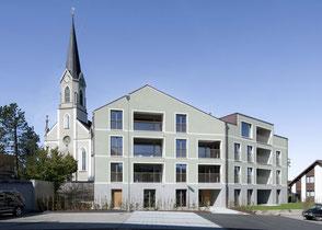 Architektur Neubau Mehrfamilienhaus