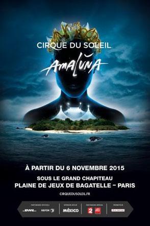 Cirque du soleil 2015 amaluna l'evenement de noel 2015