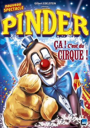Cirque Pinder Jean Richard Pelouse de reuilly 2018