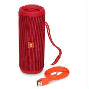 Vorder- und Hinter-Ansicht von LMP DataFlex 200JBL FLIP 4 - Wasserdichter, portabler Bluetooth Lautsprecher