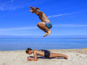 Personal Fitness Training / Functional Training at the beach