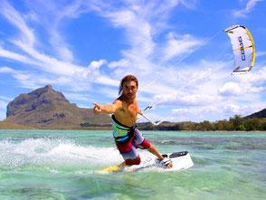 Kitesurfing/ Kitesurfschool in Mauritius