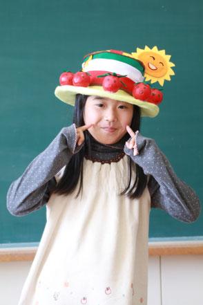 オムコレ2017帽子小学生教育長3