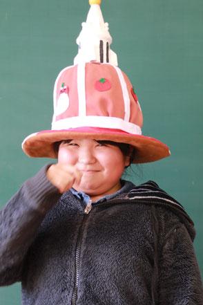 オムコレ2017帽子小学生教育長5