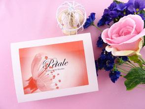 Coffret cadeau Assortiment 3 parfums pâtisserie gourmand et original aux perles avec véritables éclats de fleurs
