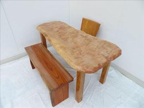 栃 天然木 無垢一枚板 ダイツリー