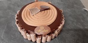 Boulangerie Habert et Pâtisserie maison - Selles-sur-Cher - Tarte aux fraises et pistaches