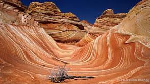 The Wave steht symbolisch für Überforderung und Ausweglosigkeit bei Stress und Burnout.