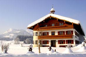 Zimmer mit Frühstück am Biobauernhof in Kössen im Tiroler Kaiserwinkl