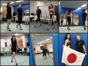 ミスアースジャパン日本代表ウォーキング