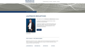 Screenshot von der Kunden Jimdo Website https://www.destinatorum.com
