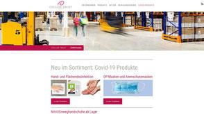 Screenshot von der Kunden Jimdo Website https://www.cellon.ch/