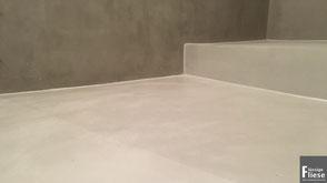 Kamin, mineralisch beschichtet, Betonoptik, Microtoping