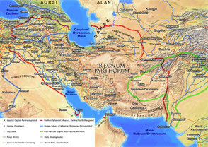 Parthian Empire postcard