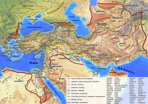 Persian Empire postcard