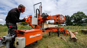 Woodmizer Blockbandsäge