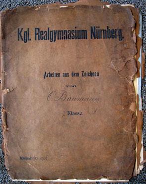 1897/98 Kunstmappe 7.Klasse