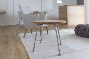 コーヒーテーブルの写真