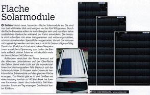 besonder flach solarmodule für Van, Kastenwagen, VW Bus,