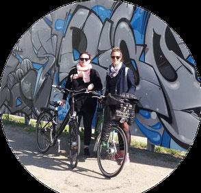 alternative Street Art Tour mit dem Rad oder zu Fuß zu illegalen und legalen Arbeiten des Szene