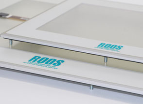 Touchscreens for displays from Roos GmbH