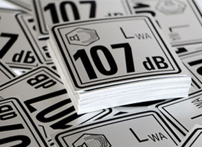 High quality stickers using screen printing and digital printing
