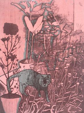Takako Hirano- gravure - La croix Nivert
