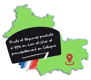Services Fruités - Livraison à domicile et au travail de fruits et légumes frais cultivés en Sologne - Loir-et-Cher - Val de Loire - Circuits courts de produits locaux et bios