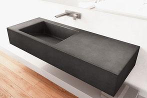 Waschbecken aus Beton SLANT 01