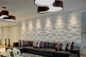 Wandfliese DYAMANTE - Wandplatte aus Beton von GODELMANN